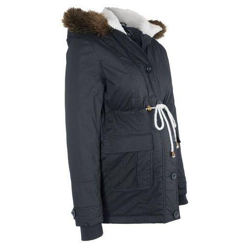 Płaszcze i kurtki ciążowe, Kurtka ciążowa zimowa bonprix czarny