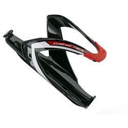EL0061685 Koszyk na bidon ELITE CUSTOM RACE czarny z czerwonym logo