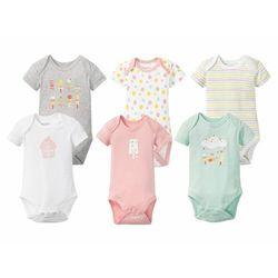LUPILU® Body niemowlęce dziewczęce z krótkim ręk