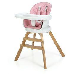 Krzesełko do karmienia 3w1 ORION 2020 Różowe