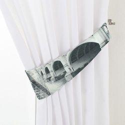 Dekoria Podwiązka Victoria, szare motywy Londynu, 12 × 70 cm, Freestyle do -30%