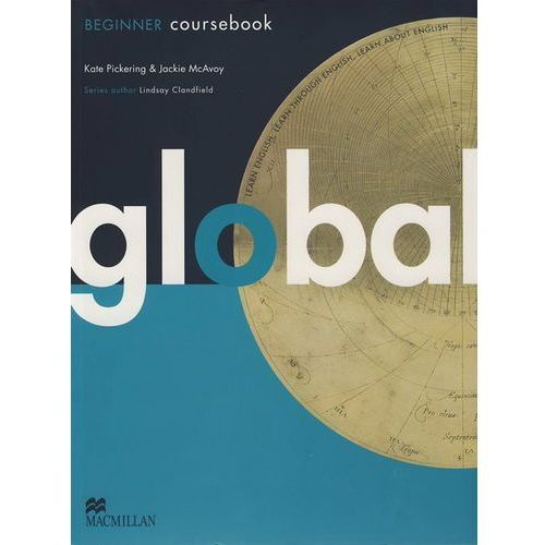 Książki do nauki języka, Global Beginner Student\'s Book (podręcznik) + eWorkbook Pack (opr. miękka)