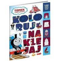 Literatura młodzieżowa, Tomek i przyjaciele. koloruj i naklejaj - marta stochmiałek (opr. broszurowa)