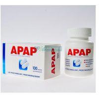 Tabletki przeciwbólowe, Apap 100 tabletek powlekanych