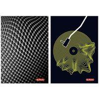 Zeszyty, Brulion B5/120K szyto-klejony Vinyl (5szt)
