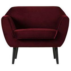 Woood fotel rocco velvet czerwony 340454-39