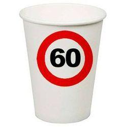 Kubeczki Znak zakazu 60tka - 266 ml - 8 szt.