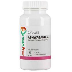 Ashwagandha kapsułki 250 mg - 60 szt