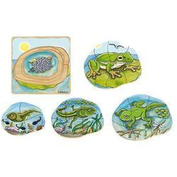 Puzzle - Żaba - zabawki dla dzieci