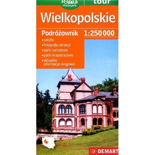 Mapy i atlasy turystyczne, Wielkopolskie podróżownik mapa samochodowa (opr. miękka)