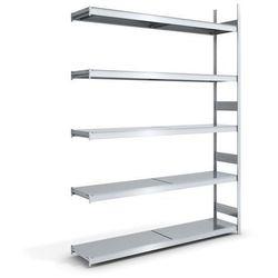 Regał wtykowy o dużej pojemności z półkami stalowymi,wys. 3000 mm, szer. półki 2000 mm