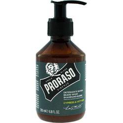 Proraso Cypress & Vetyver szampon do pielęgnacji brody 200ml
