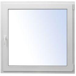 Okno PCV rozwierno-uchylne 1165 x 1135 mm prawe białe