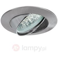 Oprawy, Oprawy wbudowywane Premium Line LED 3x1W GU10 żelazo satyn.