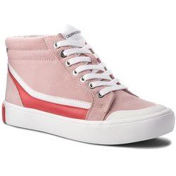 Sneakersy CALVIN KLEIN JEANS - Doris R0797 Chintz Rose/White/To