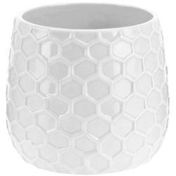 Donica ceramiczna, osłona na donicę - 15 cm