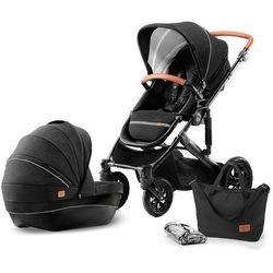 KinderKraft wózek PRIME 2w1 black - BEZPŁATNY ODBIÓR: WROCŁAW!