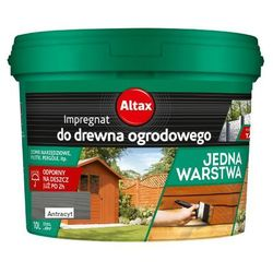 ALTAX- impregnat do drewna ogrodowego, antracyt, 10 l (i)