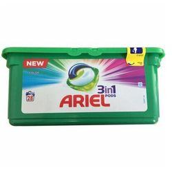 Kapsułki do prania ARIEL 3w1 Color 28 szt.