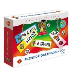 PUZZLE ORTOGRAFICZNE - H, CH - WIEK 7+