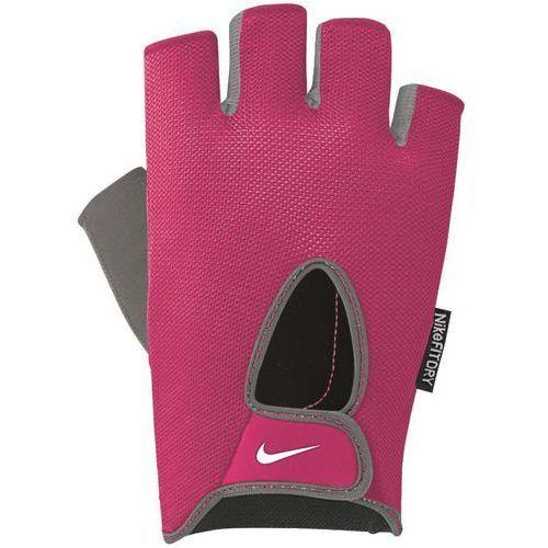 bec6ae401 Odzież fitness, Nike rękawiczki treningowe Women's Fundamental Fitness  Gloves pink/gray