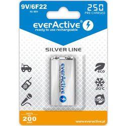 Akumulatorek 9V everActive 6F22 250 mAh Professional Line