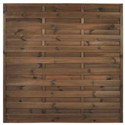 Naterial Płot szczelny 180x180 cm drewniany nive