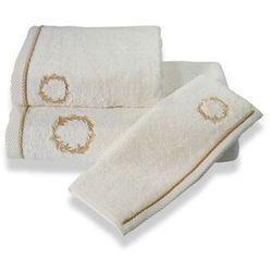 Ręcznik kąpielowy SEHZADE 85x150cm Śmietankowy / złoty haft