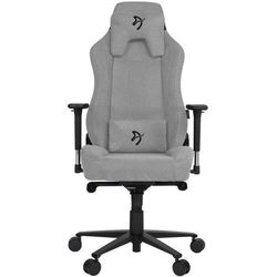 Arozzi fotel na kółkach Vernazza Soft Fabric, jasnoszary (VERNAZZA-SFB-LG)