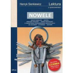 NOWELE HENRYK SIENKIEWICZ LEKTURA WYDANIE Z OPRACOWANIEM (opr. miękka)