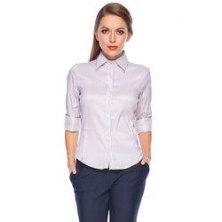 Koszula w drobne prążki - Duet Woman