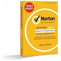Oprogramowanie antywirusowe, Symantec NORTON ANTIVIRUS BASIC1 Device - 21370583 Darmowy odbiór w 20 miastach!