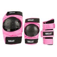Ochraniacze na ciało, ochraniacze BULLET - Standard Combo Junior Pink (PINK) rozmiar: OS