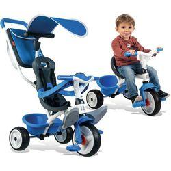 Smoby Rowerek trójkołowy Baby Balade niebieski 741102