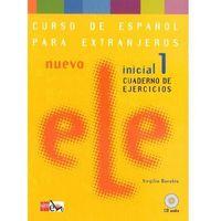 Książki do nauki języka, Nuevo Ele 1 Inicial Zeszyt Ćwiczeń (opr. miękka)