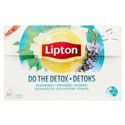 LIPTON 20x1,6g Detox Herbata ziołowa Ekspresowa
