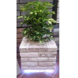 Donica z klinkieru LED