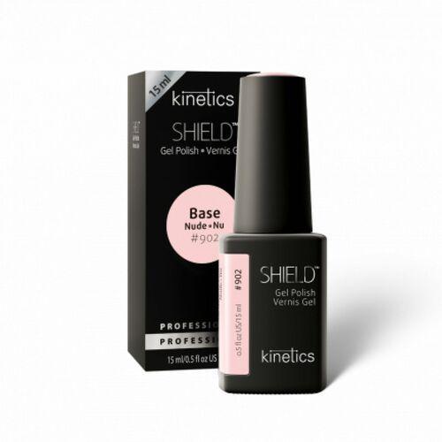 Podkłady i bazy do paznokci, Kinetics Shield BASE NUDE AU NATUREL Baza hybrydowa Nude (902)