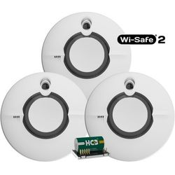 Zestaw 3x Czujnik dymu FireAngel ST-630 z modułem Wi-Safe2