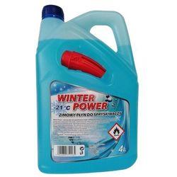 Płyn zimowy do spryskiwaczy -21°C z lejkiem 4 l