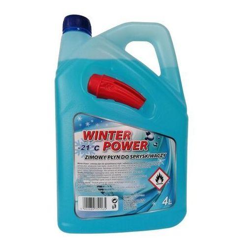 Płyny do spryskiwaczy zimowe, Płyn zimowy do spryskiwaczy -21°C z lejkiem 4 l