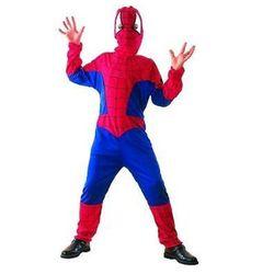 Kostium dziecięcy SpiderMan - M - 120/130 cm