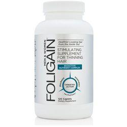NOWY Foligain suplement diety przeciw wypadającym włosom 120 tabletek