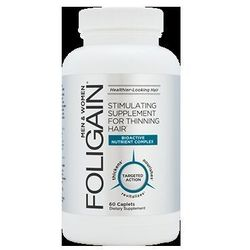 Suplement diety Foligain przeciw słabym i wypadającym włosom 60 tabletek