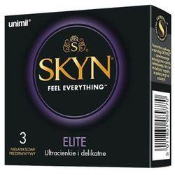 Prezerwatywy Skyn Elite Ultracienkie i delikatne - 3 szt | 100% DYSKRECJI | BEZPIECZNE ZAKUPY