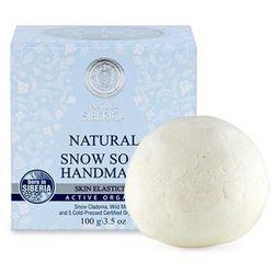 Natural Snow Soap Handmade naturalne ręcznie robione śnieżne mydło 100g