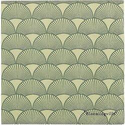 Serwetki papierowe art déco zielone 20 szt.