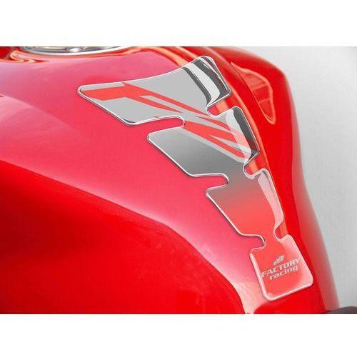 Tankpady, Tankpad PUIG Spirit, wzór Yamaha FZ (srebrny)