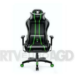 Fotel DIABLO CHAIRS X-One 2.0 (L) Czarno-zielony DARMOWY TRANSPORT