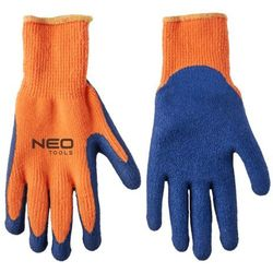 Rękawice robocze NEO 97-611 Niebiesko-pomarańczowy (Rozmiar 10)